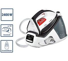Make the most of effortless ironing with the stylish Bosch Series 4 TDS4070GB Steam Generator. With 5.5 bars of steam pressure, the Bosch Steam Generator ensures high performance and great ironing quality to accompany it. A SecureLock means the steam station is securely fixed to the ironing board and will not wobble or tip over. Steam Generator Iron, 5 Bar, Series 4, Stylish, Board, Planks