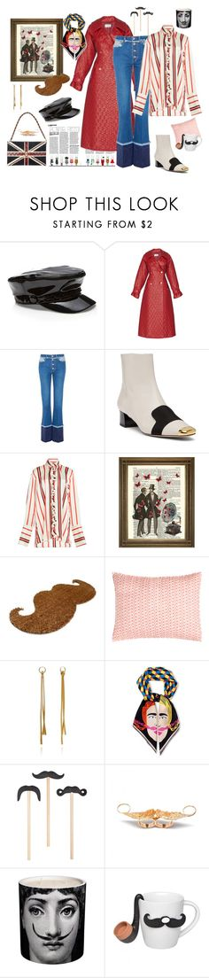 """""""The Gentlegirl"""" by juliabachmann ❤ liked on Polyvore featuring Sonia Rykiel, Bally, Paul Frank, Pine Cone Hill, Annoushka and Fornasetti"""