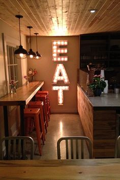 18 Unreal Etsy Finds By L.A. Creatives #refinery29 http://www.refinery29.com/los-angeles-etsy#slide4 JunkArtGypsyz Large Old Vintage Style Marquee Letters, $149.90 each, available at Etsy.