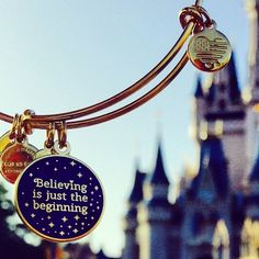 Believing is just the beginning! ALEX AND ANI! DISNEY!