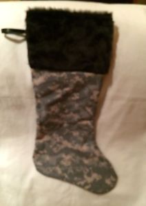 ACU Digital Camo Christmas Stocking | eBay