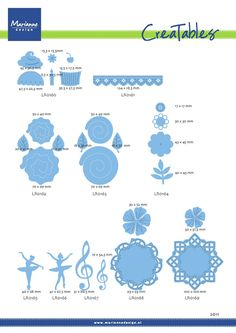 Available Creatables in 2011 - Marianne Design