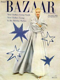 Harper's Bazaar December 1954 - Sunny Harnett