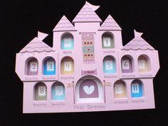New  3D Princess Castle Keepsake Photo by YourScrapbookingShop, $18.95