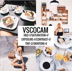 ✨ Ten Amazing Vsco Filters For Instagram Themes✨