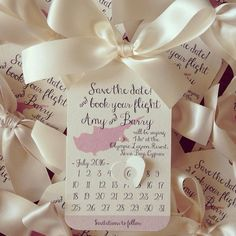 Abroad save the date by CANDYFLOSSCREATIONS1 on Etsy