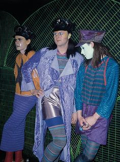 Club to Catwalk: David Walls, Leigh Bowery and Trojan at Camden Palace, London, 1984.
