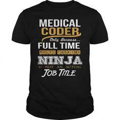 MEDICAL CODER - NINJA NEW T-Shirts, Hoodies (22.99$ ==► Order Here!)