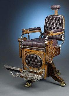 Vintage Barber Chair: