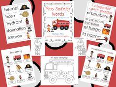 Adventures in Kindergarten: Fire Safety Freebies