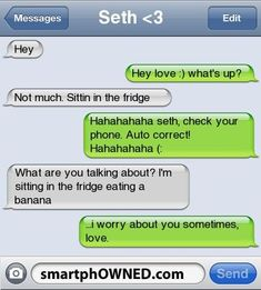 Autocorrect Fails and Funny Text Messages - SmartphOWNED: