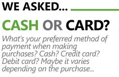 INFOGRAPHIC: CASH VS. CREDIT CARD