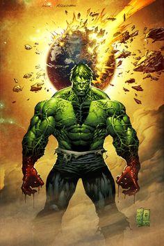 Hulk Asunderer coloured by spidermanfan2099.deviantart.com on @DeviantArt