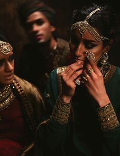 Everybody wants to be a Sabyasachi bride. Indian fashion.