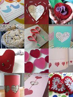 Valentine's Day Crafts, 2014 Valentines Day crafts, Creative Crafts for 2014 Lovers Day  #2014 #Valentines #day #craft  #handmade www.loveitsomuch.com