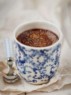 Madame Gateau: Petits pots de crème au chocolat et au piment d'Es...