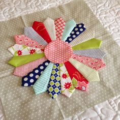 A Quilting Life - a quilt blog: Accuquilt Dresden: Block on Board