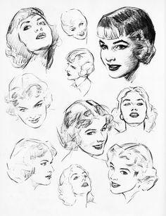 Studies by Andrew Loomis