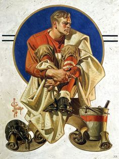 J. C. Leyendecker. Study for a Saturday Evening Post cover 1 539×2 048 пикс