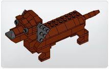 Lego Dachshund Building Instructions