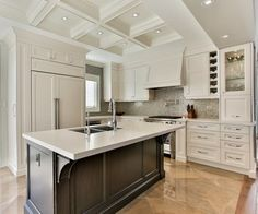 Caesarstone Frosty Carrina Design Ideas, Pictures, Remodel and Decor