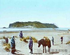 江ノ島全景 明治中期