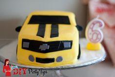 Lola's DIY Party Tips - Bumblebee cake
