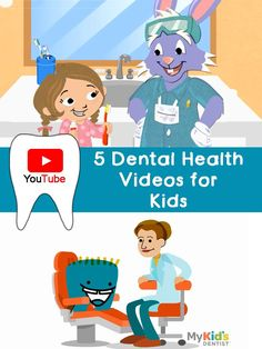5 YouTube Dental Health Videos for Kids. A perfect compliment to a dental health unit for K-2.