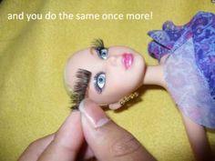 doll eyelash tutorial