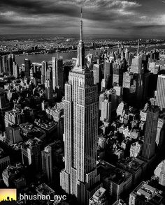 Photo by @bhushan_nyc: Empire State of the world!