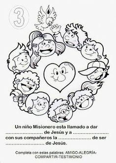 El Rincón de las Melli: INFANCIA MISIONERA