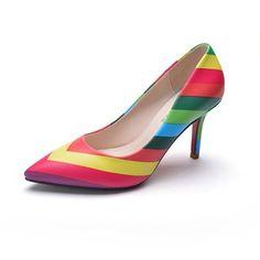 De mujer Salón Cerrados Tacones Tacón stilettos Cuero Zapatos