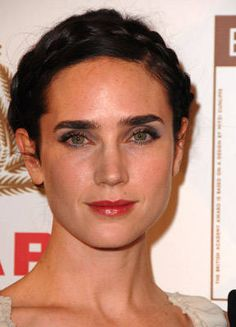 Gone are the days of overplucking eyebrows. Now celebs are sporting fuller more natural-looking brows. Check out some of our favorite looks. Hollywood Fashion, Hollywood Stars, Hottest Female Celebrities, Celebs, Requiem For A Dream, Full Brows, Gorgeous Redhead, Jennifer Connelly, Celebrity Gallery