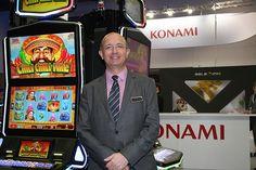 """""""El nuevo gabinete Concerto™ de Konami está teniendo un gran éxito en su presentación para el mercado europeo"""""""