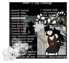 """""""RWBY Challenge Day Four"""" by sanity-requiem ❤ liked on Polyvore featuring art"""