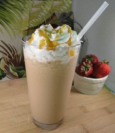 MAKE YOUR OWN: Caramel Frappe...who needs Starbucks