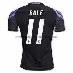 Fodboldtrøjer La Liga Real Madrid 2016-17 Bale 11 3. Trøje