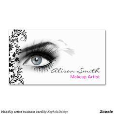MakeUp artist business card                                                                                                                                                                                 Más