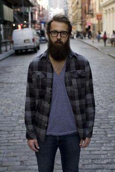 scary beard
