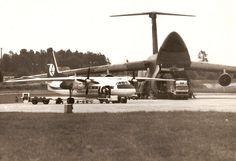 FotoBlog Sebastian Elijasz: Stare zdjęcie z @Airport Gdansk / Old photo of #Gdansk #Airport   #Airplane #History Danzig, Poland, Fighter Jets, Aircraft, Historia, Fotografia, Aviation, Planes, Airplane