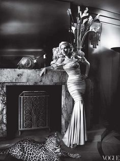 old Hollywood Glam.