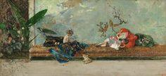 Los hijos del pintor 1874;Mariano Fortuny