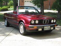 My Dream Car, Dream Cars, Bmw Convertible, 3 Bmw, Bmw 325, Bavarian Motor Works, Bmw 3 Series, E30, Supercars