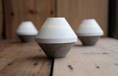Shade & Base Lantern - White by ForgeFive on Etsy https://www.etsy.com/uk/listing/484641684/shade-base-lantern-white