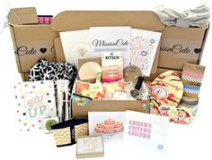 Mission Cute Subscription Box Beauty Box Subscriptions, Free Subscriptions, Sub Box, Monthly Subscription Boxes, Business Card Size, Thank You Gifts, Card Sizes, Graduation Gifts, Teacher Gifts