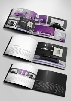 Minimal Business Brochure Template Psd  Brochure Templates