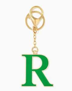 charming charlie   Initial R Keychain   UPC: 400000178318 #charmingcharlie