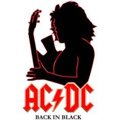 Estampa para camiseta AC/DC 000153