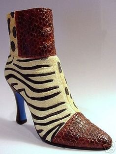 Just The Right Shoe ~ YOU ANIMAL YOU ~ 1999 RAINE ~ Retired
