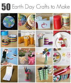 50 Earth Day Crafts to Make with Kids - Make and Takes